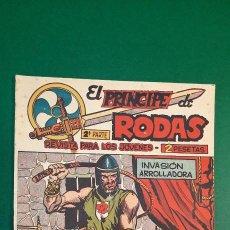 Tebeos: PRINCIPE DE RODAS, EL (1962, MAGA) -2ª PARTE- 29 · 6-XI-1962 · INVASIÓN ARROLLADORA. Lote 236633640
