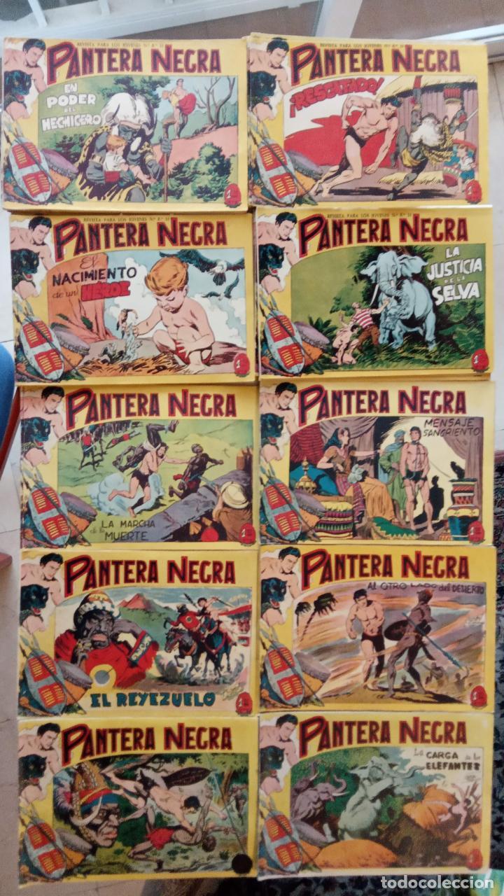 Tebeos: PANTERA NEGRA ORIGINAL COMPLETA 1,25 pts - ED. MAGA 1956 - 1 AL 54 MAGNÍFICO ESTADO, VER LAS PORTAD - Foto 6 - 236653210