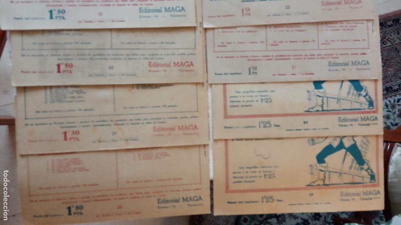 Tebeos: PANTERA NEGRA ORIGINAL COMPLETA 1,25 pts - ED. MAGA 1956 - 1 AL 54 MAGNÍFICO ESTADO, VER LAS PORTAD - Foto 12 - 236653210