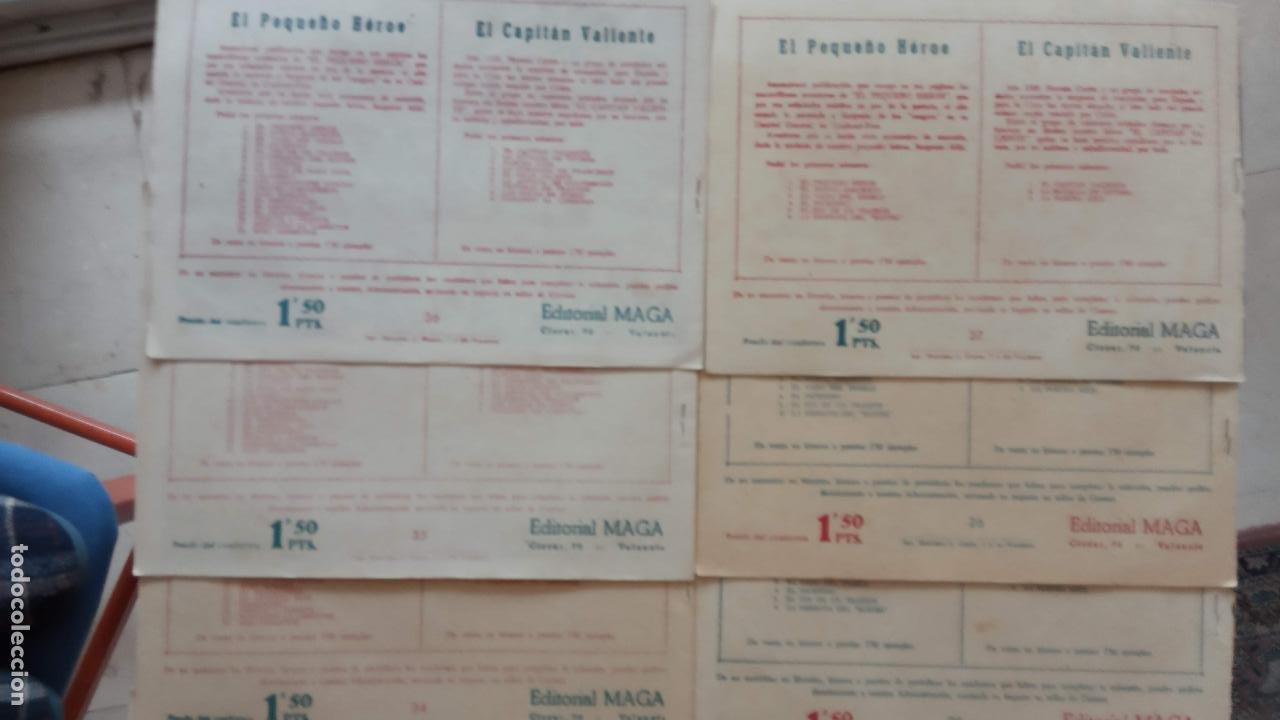 Tebeos: PANTERA NEGRA ORIGINAL COMPLETA 1,25 pts - ED. MAGA 1956 - 1 AL 54 MAGNÍFICO ESTADO, VER LAS PORTAD - Foto 14 - 236653210