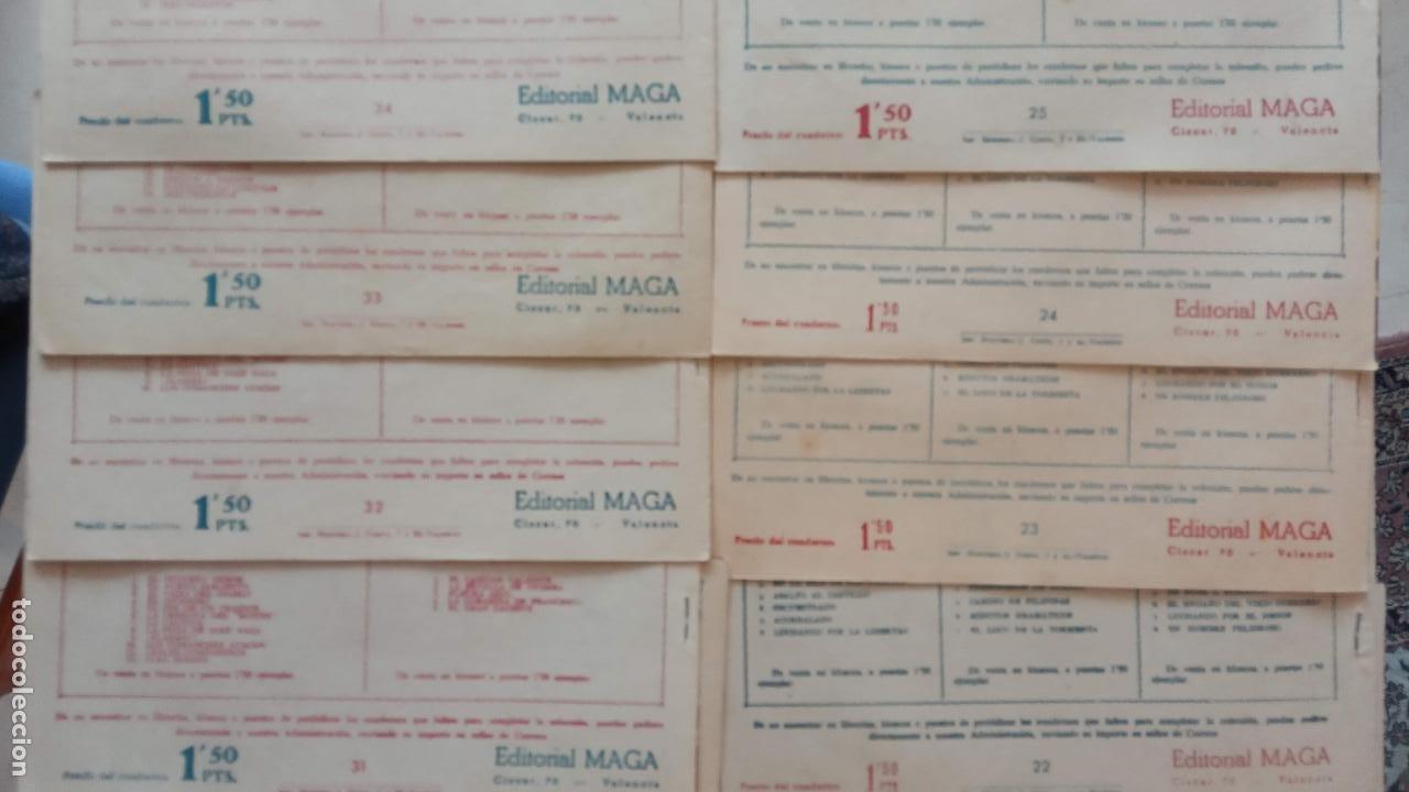 Tebeos: PANTERA NEGRA ORIGINAL COMPLETA 1,25 pts - ED. MAGA 1956 - 1 AL 54 MAGNÍFICO ESTADO, VER LAS PORTAD - Foto 15 - 236653210