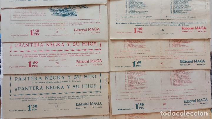 Tebeos: PANTERA NEGRA ORIGINAL COMPLETA 1,25 pts - ED. MAGA 1956 - 1 AL 54 MAGNÍFICO ESTADO, VER LAS PORTAD - Foto 16 - 236653210