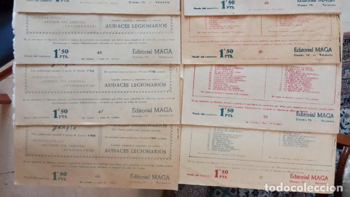 Tebeos: PANTERA NEGRA ORIGINAL COMPLETA 1,25 pts - ED. MAGA 1956 - 1 AL 54 MAGNÍFICO ESTADO, VER LAS PORTAD - Foto 17 - 236653210