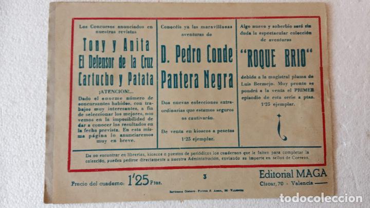 Tebeos: PANTERA NEGRA ORIGINAL COMPLETA 1,25 pts - ED. MAGA 1956 - 1 AL 54 MAGNÍFICO ESTADO, VER LAS PORTAD - Foto 23 - 236653210