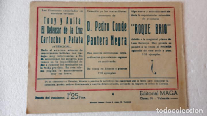 Tebeos: PANTERA NEGRA ORIGINAL COMPLETA 1,25 pts - ED. MAGA 1956 - 1 AL 54 MAGNÍFICO ESTADO, VER LAS PORTAD - Foto 26 - 236653210