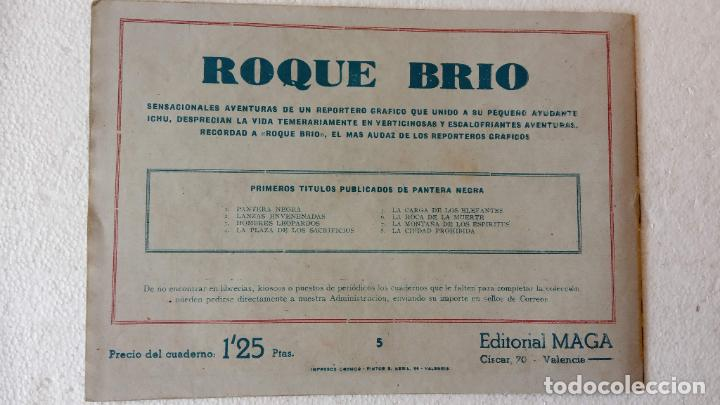 Tebeos: PANTERA NEGRA ORIGINAL COMPLETA 1,25 pts - ED. MAGA 1956 - 1 AL 54 MAGNÍFICO ESTADO, VER LAS PORTAD - Foto 28 - 236653210