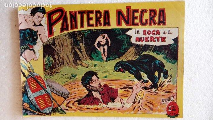 Tebeos: PANTERA NEGRA ORIGINAL COMPLETA 1,25 pts - ED. MAGA 1956 - 1 AL 54 MAGNÍFICO ESTADO, VER LAS PORTAD - Foto 31 - 236653210
