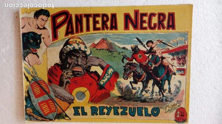 Tebeos: PANTERA NEGRA ORIGINAL COMPLETA 1,25 pts - ED. MAGA 1956 - 1 AL 54 MAGNÍFICO ESTADO, VER LAS PORTAD - Foto 34 - 236653210