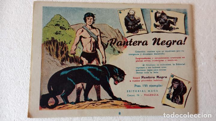 Tebeos: PANTERA NEGRA ORIGINAL COMPLETA 1,25 pts - ED. MAGA 1956 - 1 AL 54 MAGNÍFICO ESTADO, VER LAS PORTAD - Foto 35 - 236653210