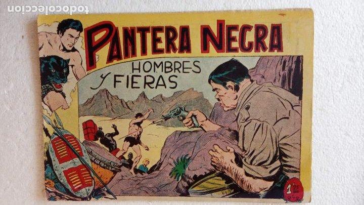 Tebeos: PANTERA NEGRA ORIGINAL COMPLETA 1,25 pts - ED. MAGA 1956 - 1 AL 54 MAGNÍFICO ESTADO, VER LAS PORTAD - Foto 38 - 236653210