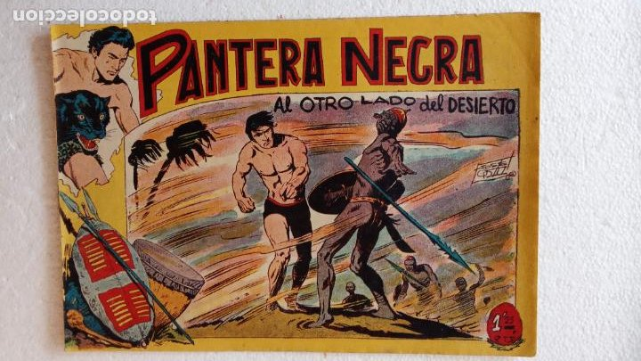 Tebeos: PANTERA NEGRA ORIGINAL COMPLETA 1,25 pts - ED. MAGA 1956 - 1 AL 54 MAGNÍFICO ESTADO, VER LAS PORTAD - Foto 39 - 236653210