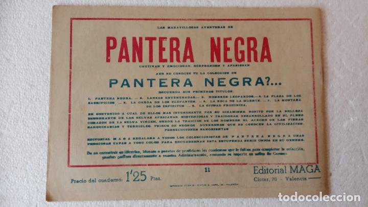 Tebeos: PANTERA NEGRA ORIGINAL COMPLETA 1,25 pts - ED. MAGA 1956 - 1 AL 54 MAGNÍFICO ESTADO, VER LAS PORTAD - Foto 40 - 236653210