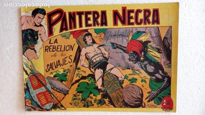 Tebeos: PANTERA NEGRA ORIGINAL COMPLETA 1,25 pts - ED. MAGA 1956 - 1 AL 54 MAGNÍFICO ESTADO, VER LAS PORTAD - Foto 41 - 236653210