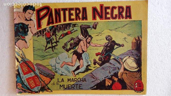 Tebeos: PANTERA NEGRA ORIGINAL COMPLETA 1,25 pts - ED. MAGA 1956 - 1 AL 54 MAGNÍFICO ESTADO, VER LAS PORTAD - Foto 43 - 236653210