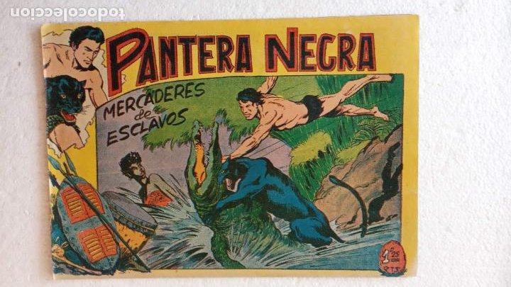 Tebeos: PANTERA NEGRA ORIGINAL COMPLETA 1,25 pts - ED. MAGA 1956 - 1 AL 54 MAGNÍFICO ESTADO, VER LAS PORTAD - Foto 45 - 236653210