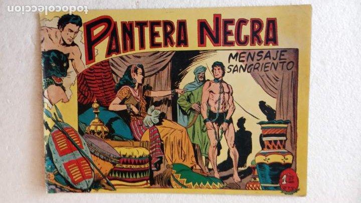 Tebeos: PANTERA NEGRA ORIGINAL COMPLETA 1,25 pts - ED. MAGA 1956 - 1 AL 54 MAGNÍFICO ESTADO, VER LAS PORTAD - Foto 48 - 236653210