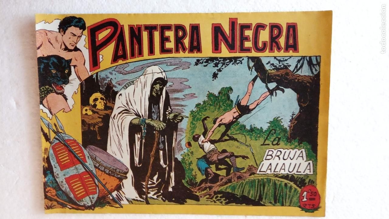 Tebeos: PANTERA NEGRA ORIGINAL COMPLETA 1,25 pts - ED. MAGA 1956 - 1 AL 54 MAGNÍFICO ESTADO, VER LAS PORTAD - Foto 53 - 236653210
