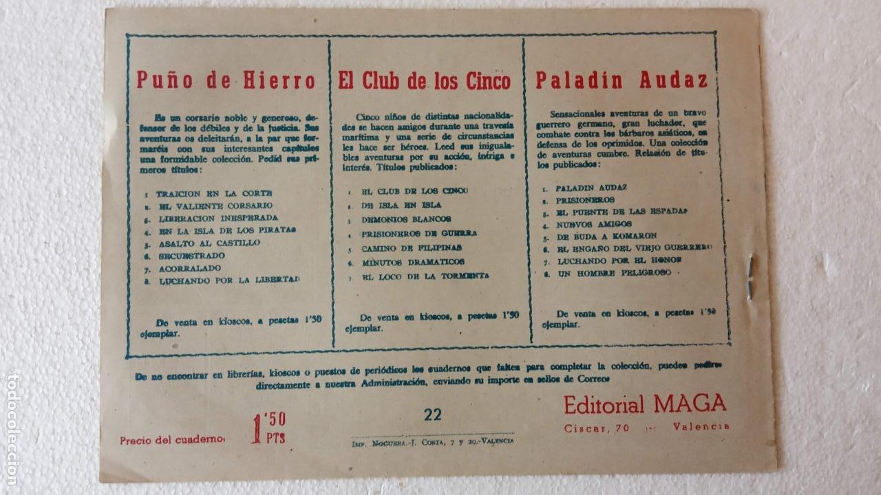 Tebeos: PANTERA NEGRA ORIGINAL COMPLETA 1,25 pts - ED. MAGA 1956 - 1 AL 54 MAGNÍFICO ESTADO, VER LAS PORTAD - Foto 54 - 236653210