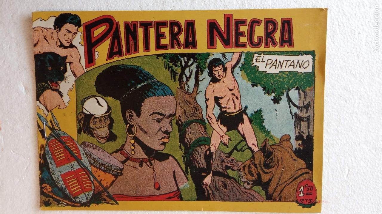 Tebeos: PANTERA NEGRA ORIGINAL COMPLETA 1,25 pts - ED. MAGA 1956 - 1 AL 54 MAGNÍFICO ESTADO, VER LAS PORTAD - Foto 55 - 236653210