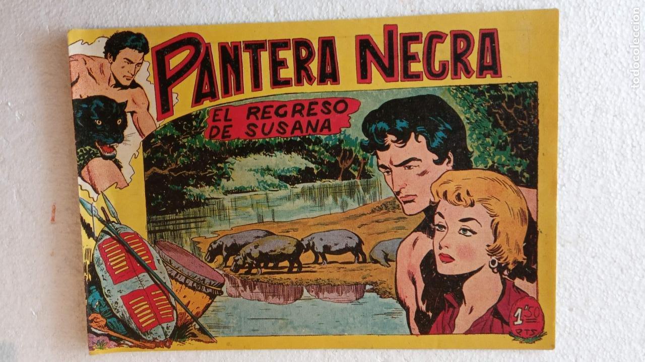 Tebeos: PANTERA NEGRA ORIGINAL COMPLETA 1,25 pts - ED. MAGA 1956 - 1 AL 54 MAGNÍFICO ESTADO, VER LAS PORTAD - Foto 56 - 236653210
