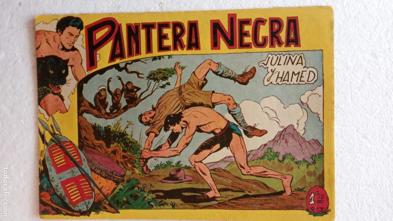 Tebeos: PANTERA NEGRA ORIGINAL COMPLETA 1,25 pts - ED. MAGA 1956 - 1 AL 54 MAGNÍFICO ESTADO, VER LAS PORTAD - Foto 60 - 236653210