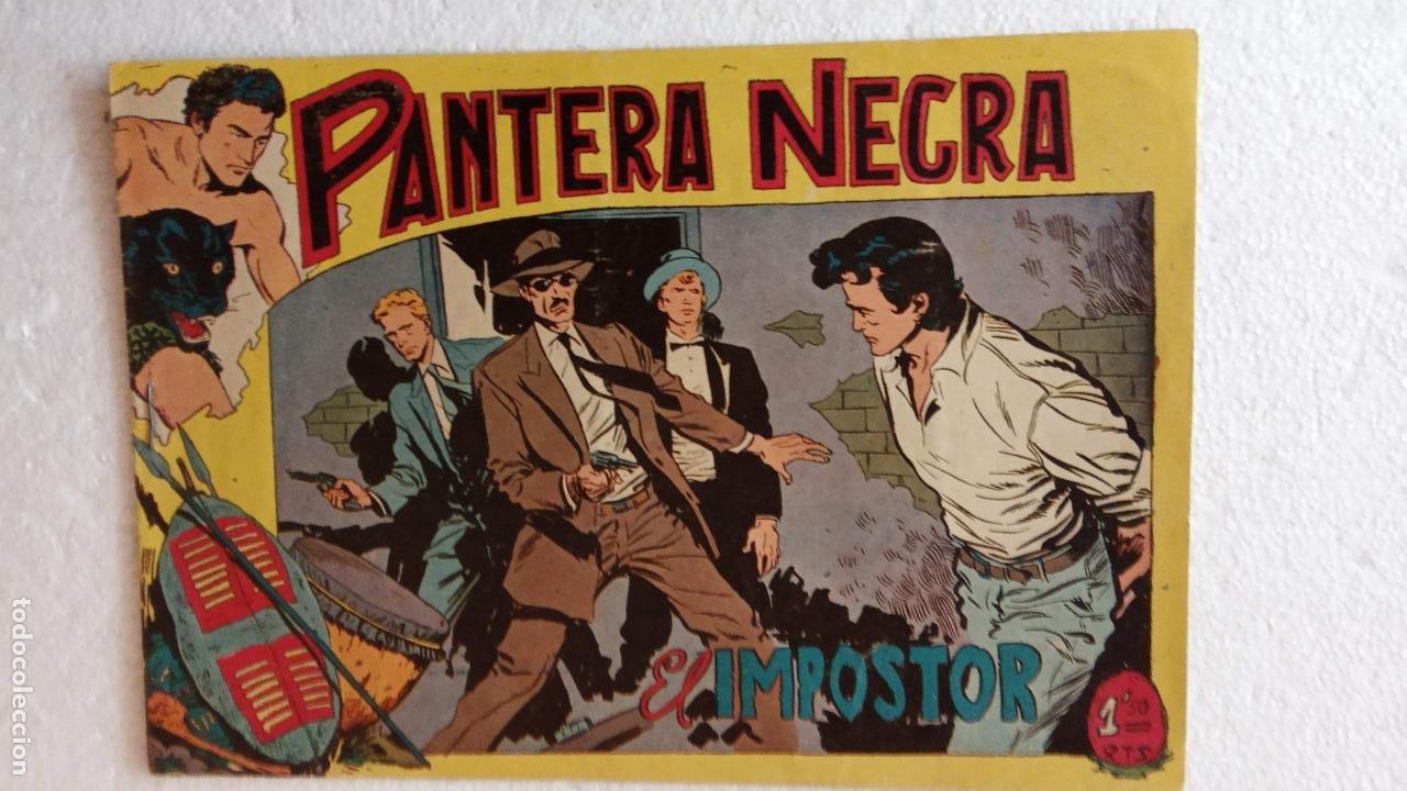 Tebeos: PANTERA NEGRA ORIGINAL COMPLETA 1,25 pts - ED. MAGA 1956 - 1 AL 54 MAGNÍFICO ESTADO, VER LAS PORTAD - Foto 61 - 236653210