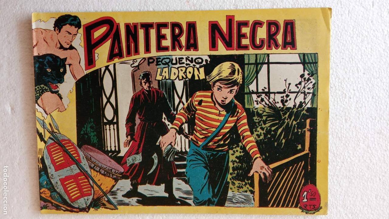 Tebeos: PANTERA NEGRA ORIGINAL COMPLETA 1,25 pts - ED. MAGA 1956 - 1 AL 54 MAGNÍFICO ESTADO, VER LAS PORTAD - Foto 65 - 236653210