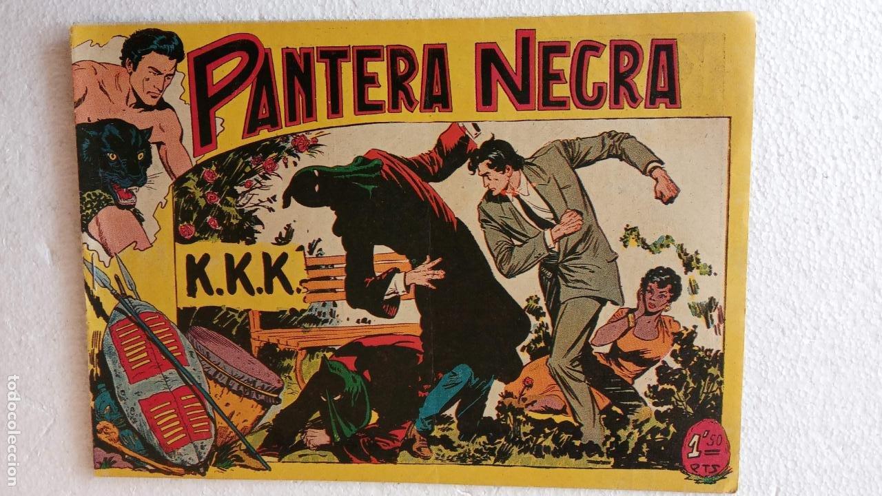 Tebeos: PANTERA NEGRA ORIGINAL COMPLETA 1,25 pts - ED. MAGA 1956 - 1 AL 54 MAGNÍFICO ESTADO, VER LAS PORTAD - Foto 67 - 236653210