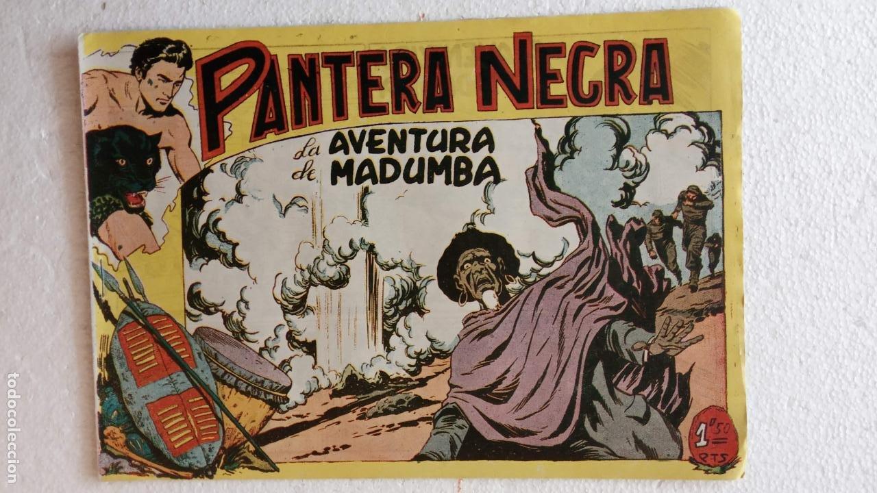 Tebeos: PANTERA NEGRA ORIGINAL COMPLETA 1,25 pts - ED. MAGA 1956 - 1 AL 54 MAGNÍFICO ESTADO, VER LAS PORTAD - Foto 70 - 236653210