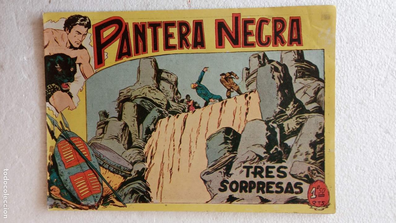 Tebeos: PANTERA NEGRA ORIGINAL COMPLETA 1,25 pts - ED. MAGA 1956 - 1 AL 54 MAGNÍFICO ESTADO, VER LAS PORTAD - Foto 71 - 236653210