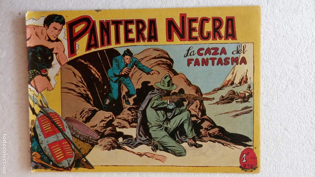 Tebeos: PANTERA NEGRA ORIGINAL COMPLETA 1,25 pts - ED. MAGA 1956 - 1 AL 54 MAGNÍFICO ESTADO, VER LAS PORTAD - Foto 73 - 236653210