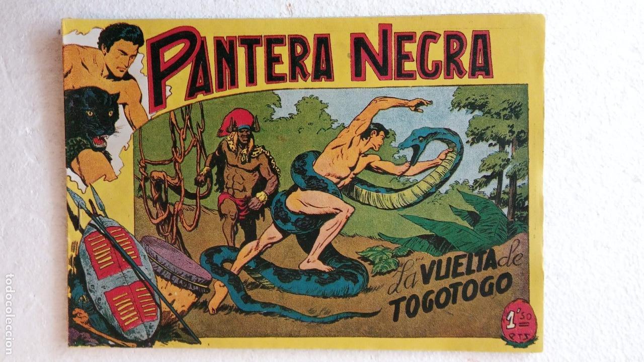 Tebeos: PANTERA NEGRA ORIGINAL COMPLETA 1,25 pts - ED. MAGA 1956 - 1 AL 54 MAGNÍFICO ESTADO, VER LAS PORTAD - Foto 74 - 236653210