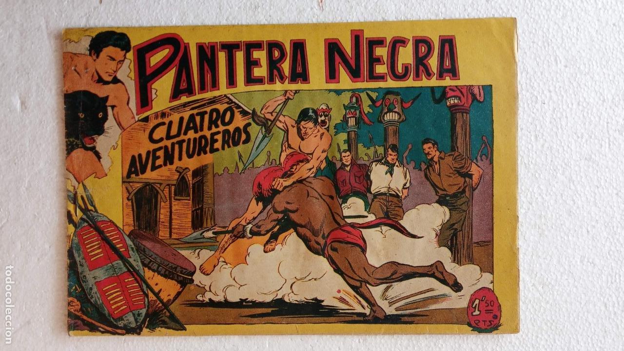 Tebeos: PANTERA NEGRA ORIGINAL COMPLETA 1,25 pts - ED. MAGA 1956 - 1 AL 54 MAGNÍFICO ESTADO, VER LAS PORTAD - Foto 75 - 236653210