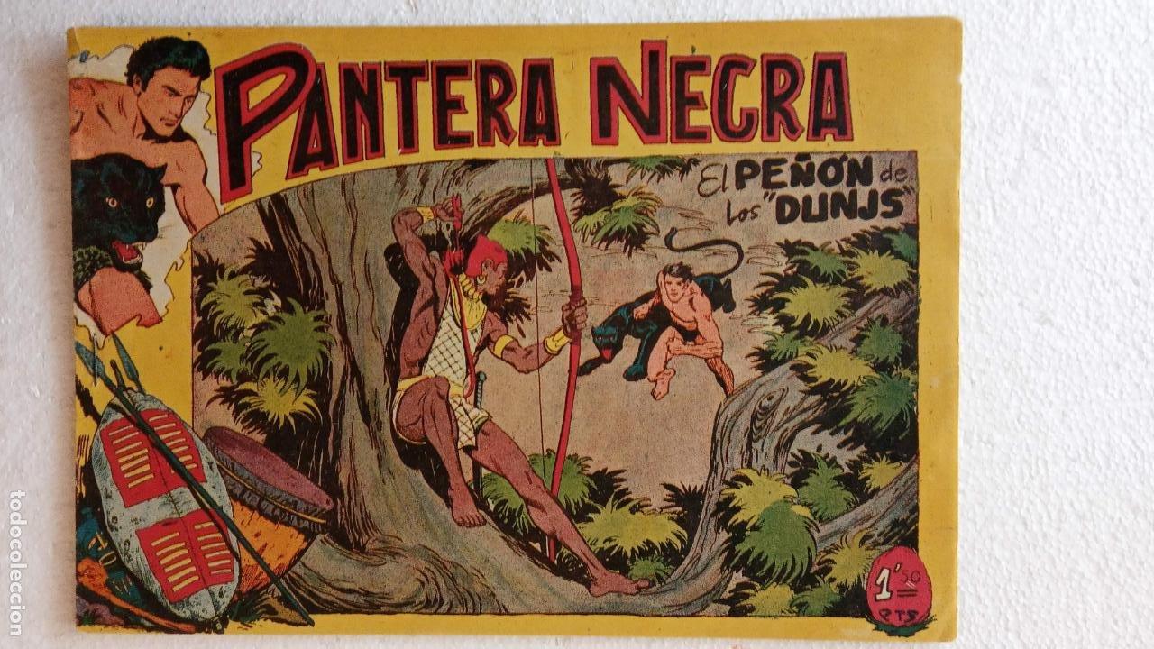 Tebeos: PANTERA NEGRA ORIGINAL COMPLETA 1,25 pts - ED. MAGA 1956 - 1 AL 54 MAGNÍFICO ESTADO, VER LAS PORTAD - Foto 76 - 236653210