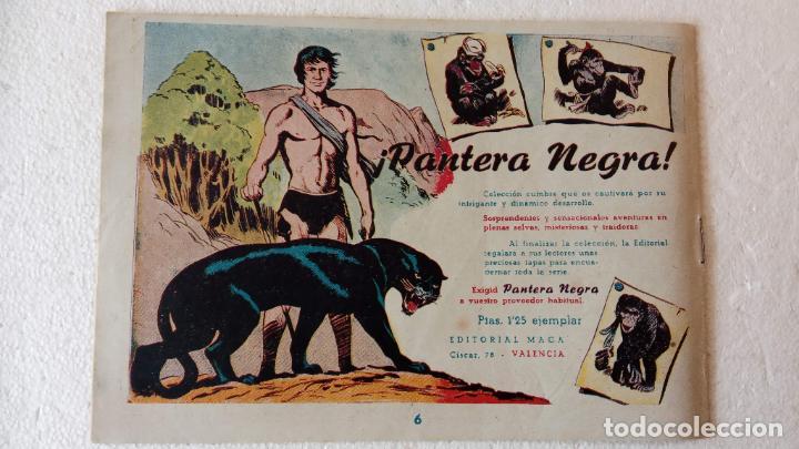Tebeos: PANTERA NEGRA ORIGINAL COMPLETA 1,25 pts - ED. MAGA 1956 - 1 AL 54 MAGNÍFICO ESTADO, VER LAS PORTAD - Foto 77 - 236653210