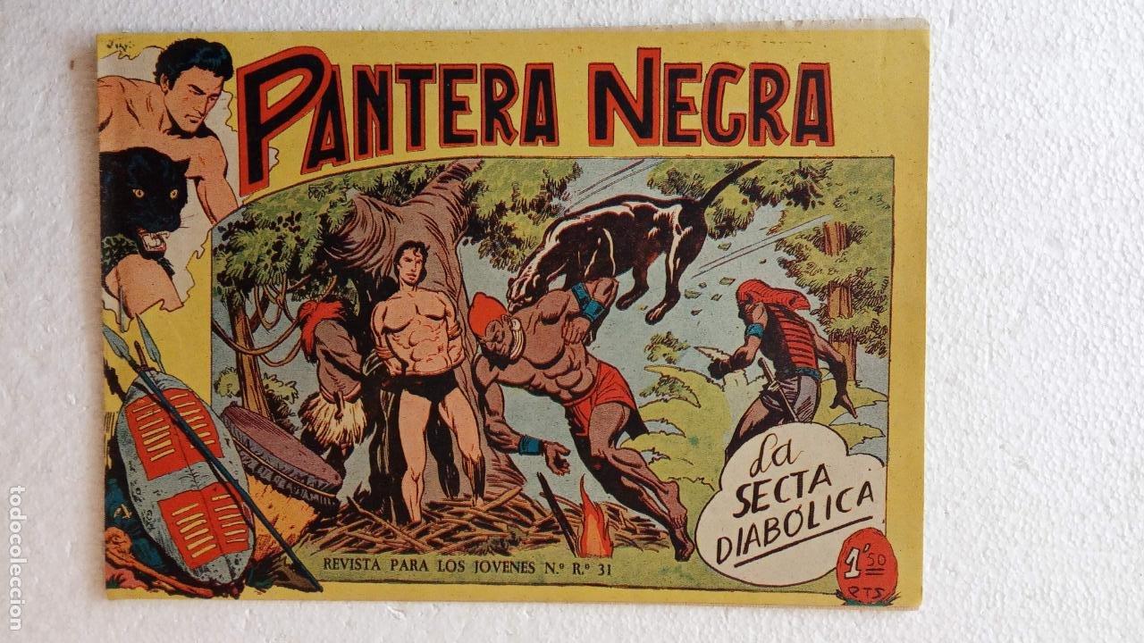 Tebeos: PANTERA NEGRA ORIGINAL COMPLETA 1,25 pts - ED. MAGA 1956 - 1 AL 54 MAGNÍFICO ESTADO, VER LAS PORTAD - Foto 80 - 236653210