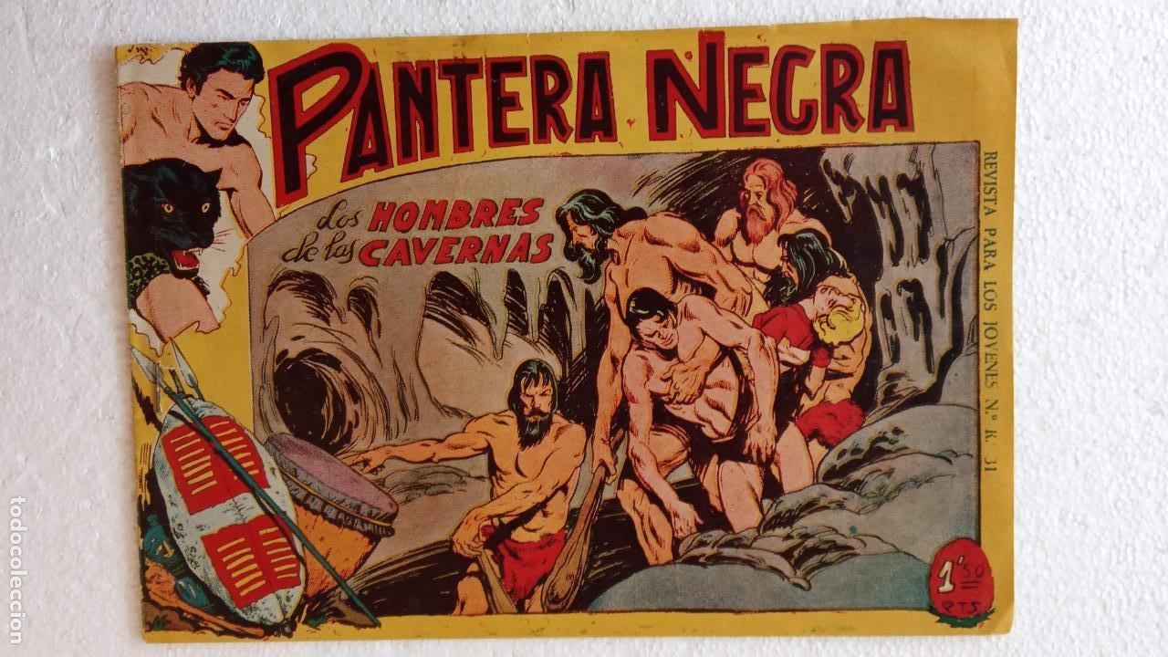 Tebeos: PANTERA NEGRA ORIGINAL COMPLETA 1,25 pts - ED. MAGA 1956 - 1 AL 54 MAGNÍFICO ESTADO, VER LAS PORTAD - Foto 81 - 236653210