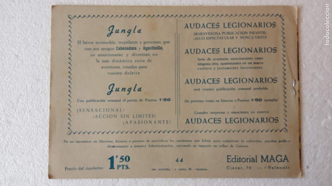 Tebeos: PANTERA NEGRA ORIGINAL COMPLETA 1,25 pts - ED. MAGA 1956 - 1 AL 54 MAGNÍFICO ESTADO, VER LAS PORTAD - Foto 82 - 236653210