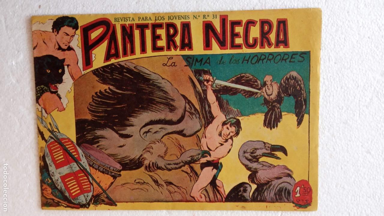Tebeos: PANTERA NEGRA ORIGINAL COMPLETA 1,25 pts - ED. MAGA 1956 - 1 AL 54 MAGNÍFICO ESTADO, VER LAS PORTAD - Foto 83 - 236653210
