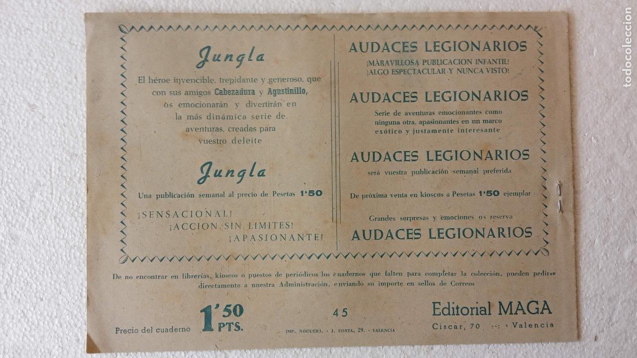 Tebeos: PANTERA NEGRA ORIGINAL COMPLETA 1,25 pts - ED. MAGA 1956 - 1 AL 54 MAGNÍFICO ESTADO, VER LAS PORTAD - Foto 84 - 236653210