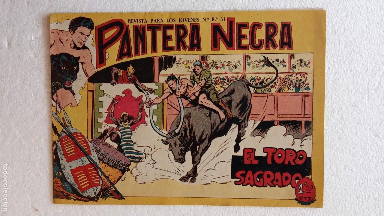 Tebeos: PANTERA NEGRA ORIGINAL COMPLETA 1,25 pts - ED. MAGA 1956 - 1 AL 54 MAGNÍFICO ESTADO, VER LAS PORTAD - Foto 85 - 236653210