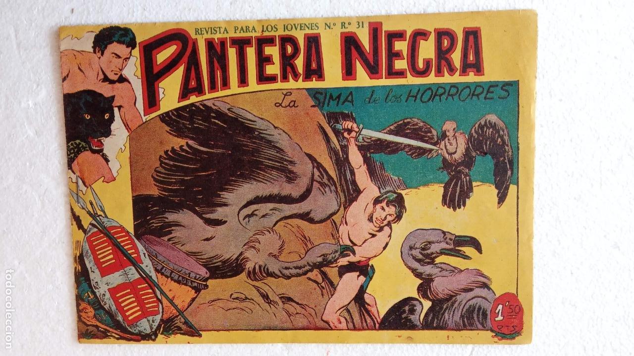 Tebeos: PANTERA NEGRA ORIGINAL COMPLETA 1,25 pts - ED. MAGA 1956 - 1 AL 54 MAGNÍFICO ESTADO, VER LAS PORTAD - Foto 86 - 236653210