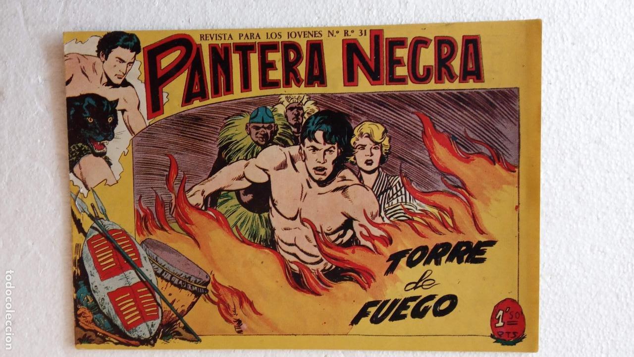 Tebeos: PANTERA NEGRA ORIGINAL COMPLETA 1,25 pts - ED. MAGA 1956 - 1 AL 54 MAGNÍFICO ESTADO, VER LAS PORTAD - Foto 87 - 236653210