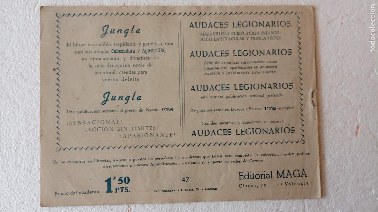 Tebeos: PANTERA NEGRA ORIGINAL COMPLETA 1,25 pts - ED. MAGA 1956 - 1 AL 54 MAGNÍFICO ESTADO, VER LAS PORTAD - Foto 88 - 236653210