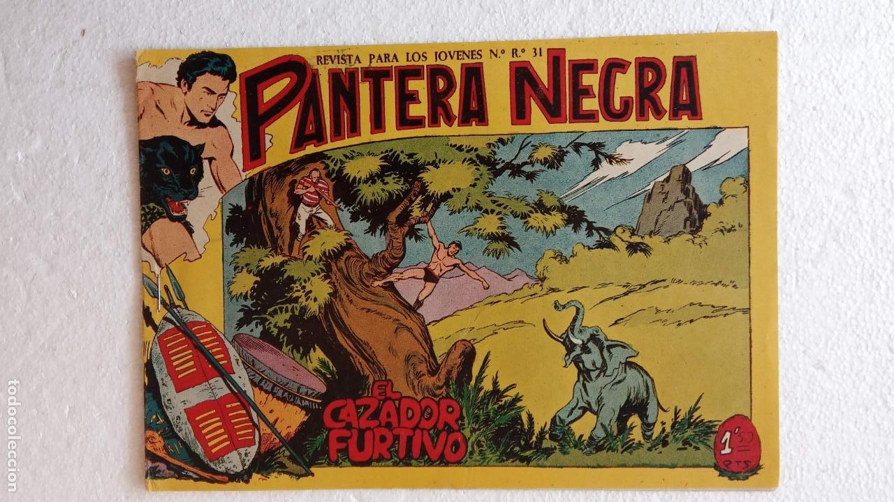 Tebeos: PANTERA NEGRA ORIGINAL COMPLETA 1,25 pts - ED. MAGA 1956 - 1 AL 54 MAGNÍFICO ESTADO, VER LAS PORTAD - Foto 89 - 236653210