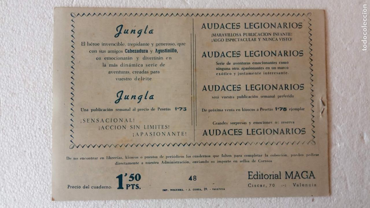 Tebeos: PANTERA NEGRA ORIGINAL COMPLETA 1,25 pts - ED. MAGA 1956 - 1 AL 54 MAGNÍFICO ESTADO, VER LAS PORTAD - Foto 90 - 236653210