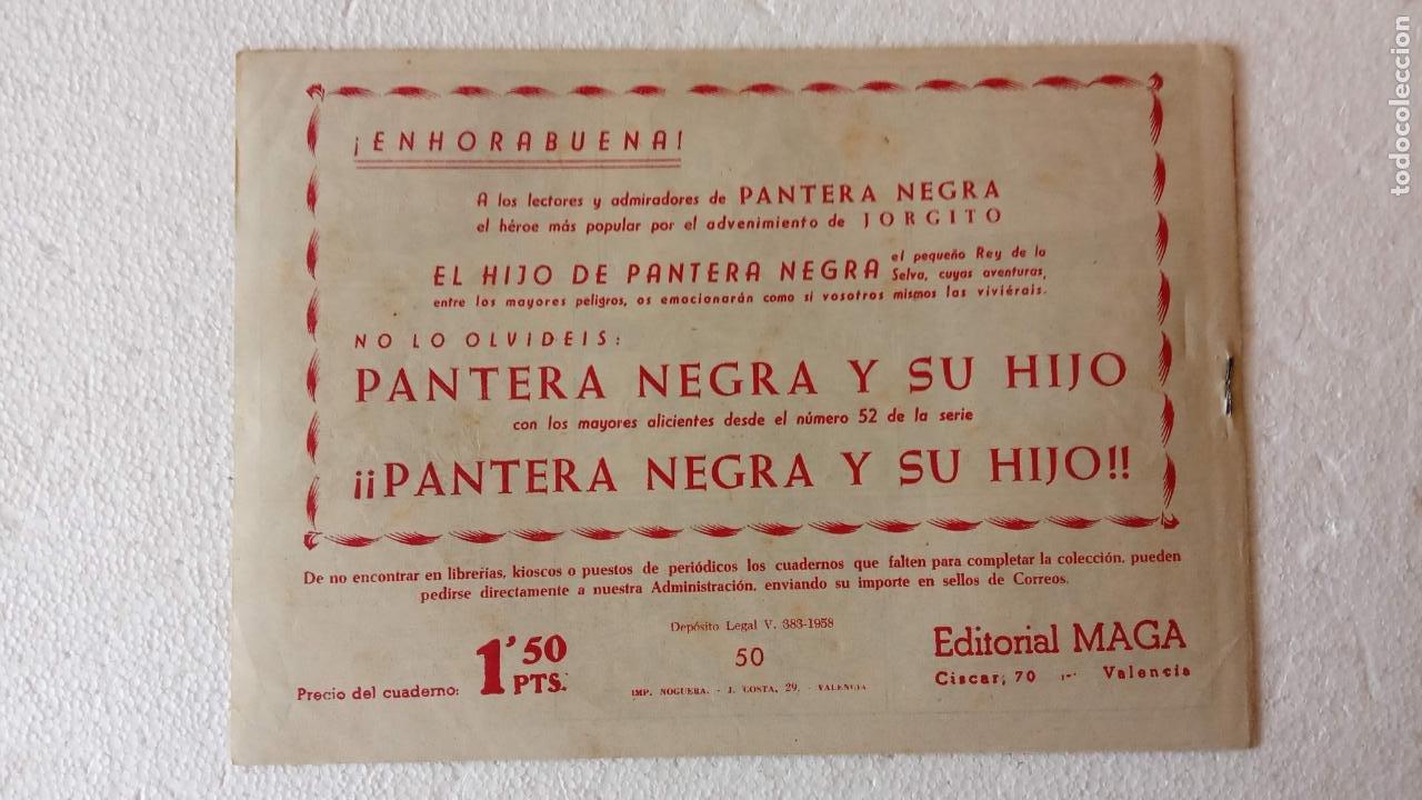 Tebeos: PANTERA NEGRA ORIGINAL COMPLETA 1,25 pts - ED. MAGA 1956 - 1 AL 54 MAGNÍFICO ESTADO, VER LAS PORTAD - Foto 94 - 236653210