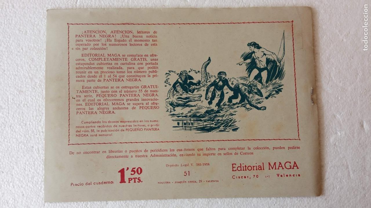 Tebeos: PANTERA NEGRA ORIGINAL COMPLETA 1,25 pts - ED. MAGA 1956 - 1 AL 54 MAGNÍFICO ESTADO, VER LAS PORTAD - Foto 95 - 236653210