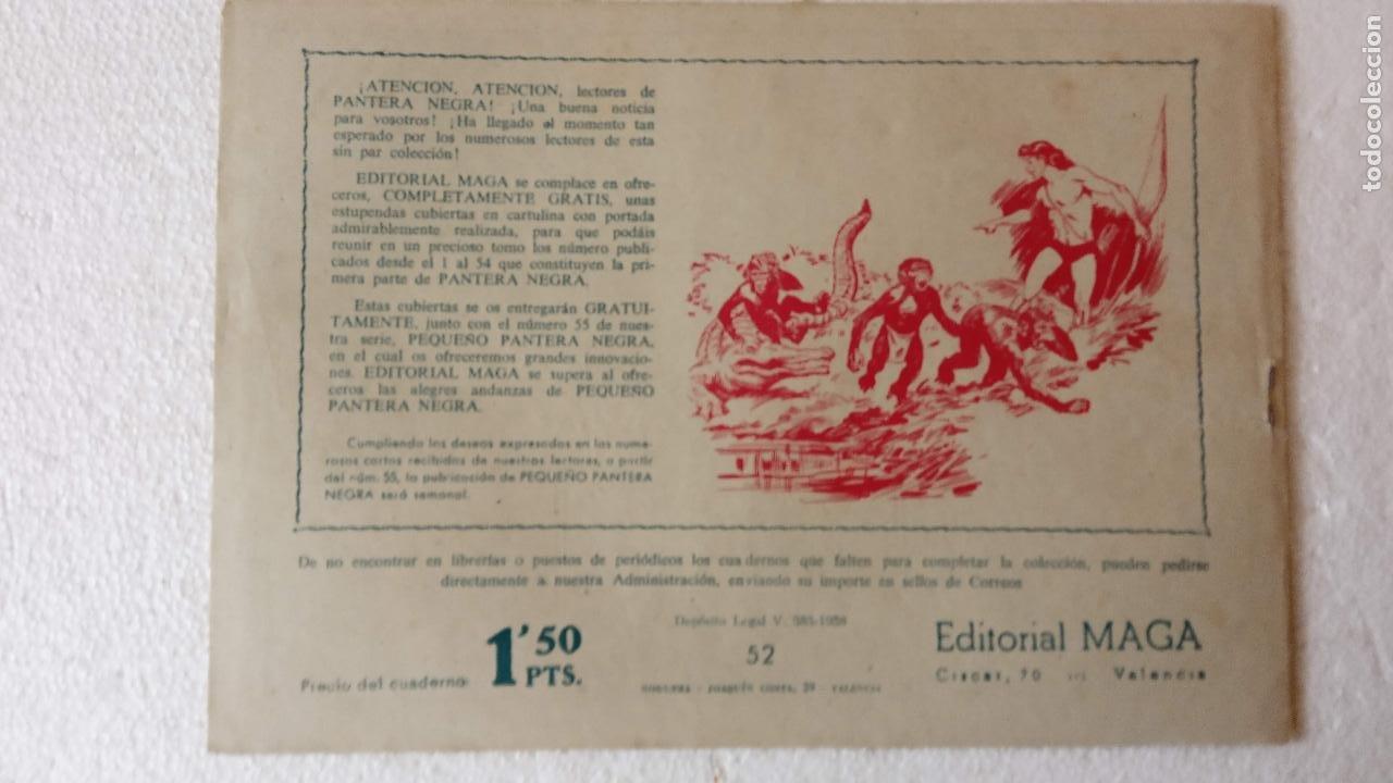 Tebeos: PANTERA NEGRA ORIGINAL COMPLETA 1,25 pts - ED. MAGA 1956 - 1 AL 54 MAGNÍFICO ESTADO, VER LAS PORTAD - Foto 96 - 236653210
