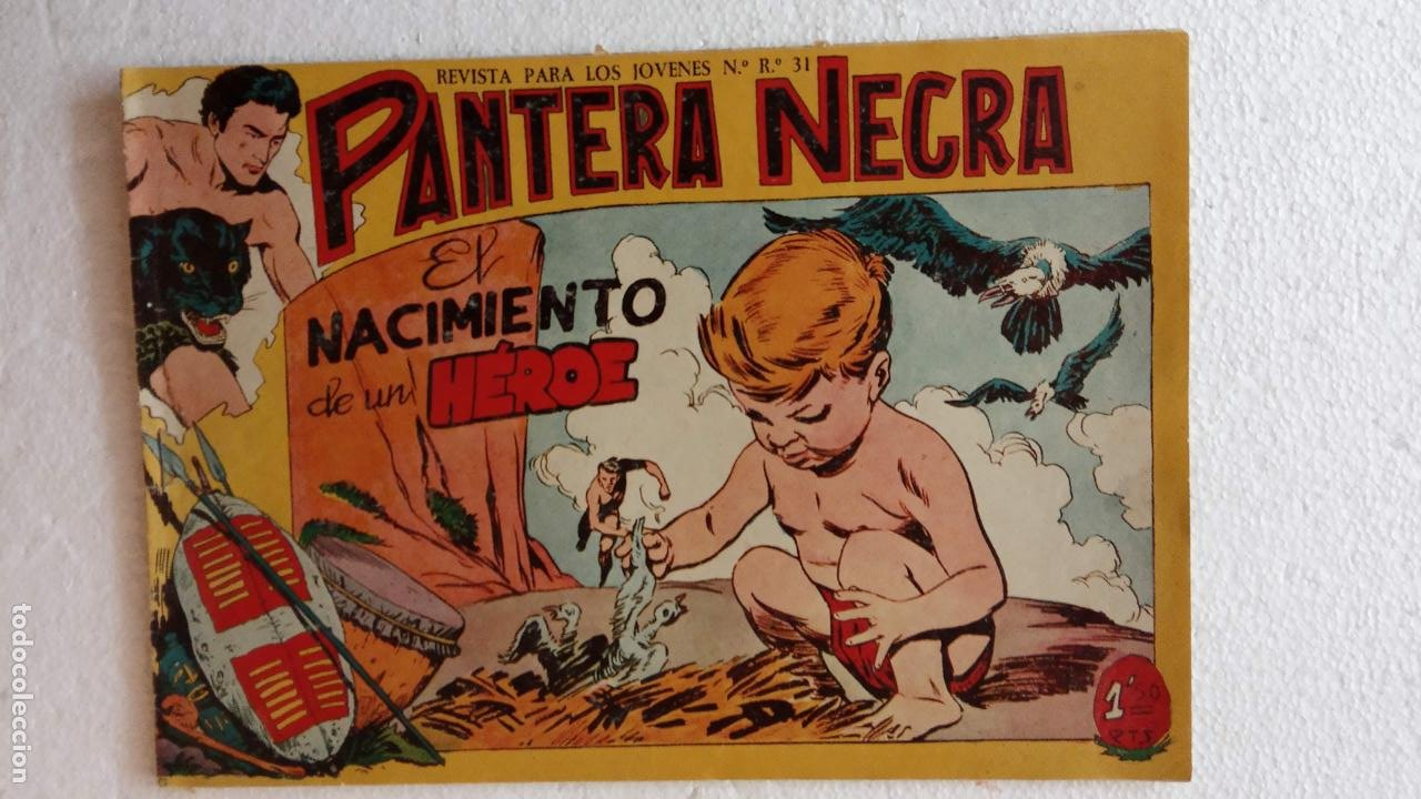 Tebeos: PANTERA NEGRA ORIGINAL COMPLETA 1,25 pts - ED. MAGA 1956 - 1 AL 54 MAGNÍFICO ESTADO, VER LAS PORTAD - Foto 97 - 236653210